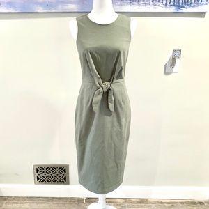 Antonio Melani Green Sleeveless Pencil Dress